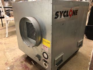 Syclone Negative Air Machine with 3 Stage Filtration