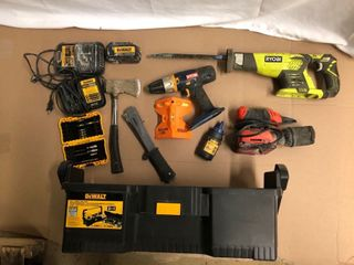 Tool Box with Assorted Tools Included