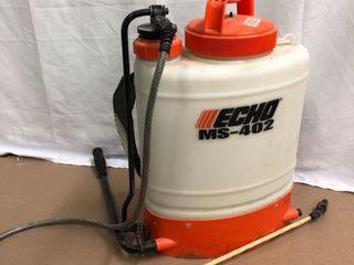 Echo MS 402 Piston Pump Back Pack Sprayer