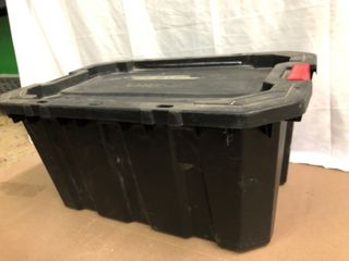 Husky 30 Gallon latching Tote