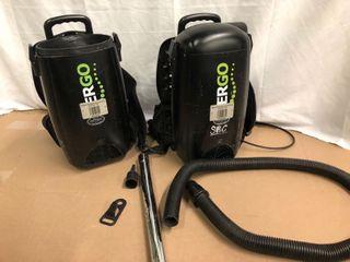 Ergo Hepa Filter Vaccums   2 Pack