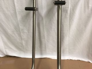 Metal Vaccum Poles   2 Pack