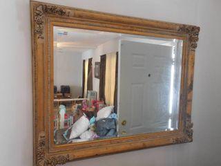 large wall mirror  39  T x 48 3 4  W x 3 1 2  D
