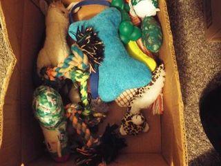 lot of various dog toy s and petStbuyi pet stair