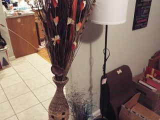 lot with floor lamp and floor decor