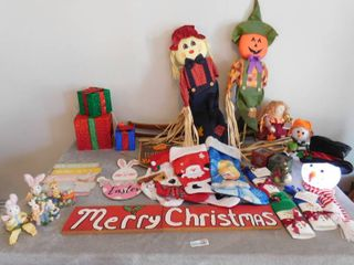 lot of holiday item s