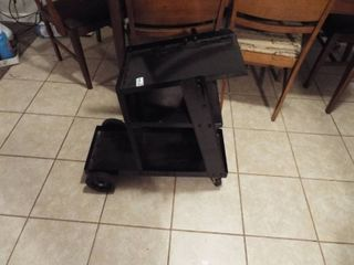 New out of box Chicago electric welding 100 lB  capacity welding cart