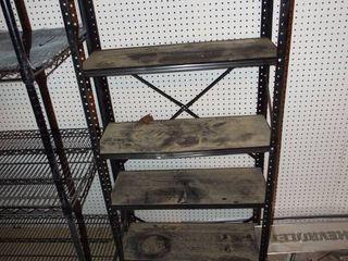 Metal shelf  30  W x 11 1 2  D x 58 1 2  T