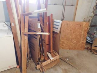 lot of various wood