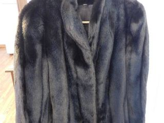 Grandella II Faux Fur Coat Size 12