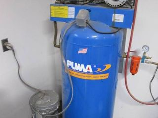 Puma Industrial Air Compressor With...