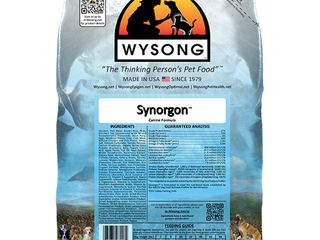 4 Pack WYSONG PET NUTRITIONAl PRODUCTS 858017 4 Pack Synorgon Food for Dogs  5 Pound