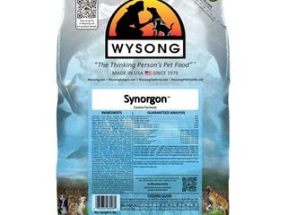 4 Pack Wysong Synorgon Canine Dry Diet  5 Pound