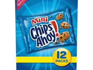 4 Boxes MINI COOKIES Chips Ahoy