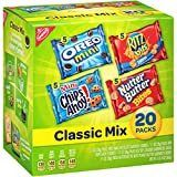 4 Pack Nabisco Variety Classic Mix Snacks Variety Pack  20 Count
