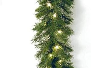National Tree Company 9 x10  Pre lit Garland Clear
