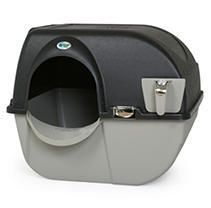 Omega Paw Elite Roll  n Clean Self Cleaning litter Box  Regular