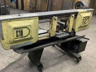 Emerson 10 Horizontal Bandsaw with pump