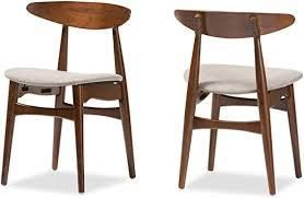 Mid Century Dining Chairs Set of 2