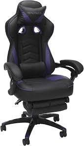 Respawn 110 Racing Style Reclining Gaming Chair in Purple