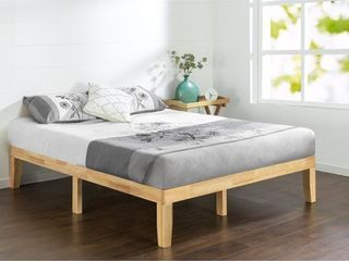 Twin Priage 14in Solid Wood Platform Bed