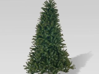 9ft Noble Fir Unlit Hinged Artificial Tree