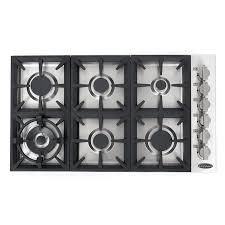 Stainless Steel 36in Gas Cooktop