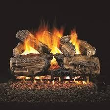 Resin Brown Classic Real Fyre Designer Series Split Series 30 inch Vented Gas logs lOGS ONlY  SEE PHOTOS