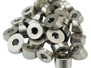 Muzata Stainless Steel 8mm 30 Degree Angle Beveled Washer Wood Metal Aluminum Posts DIY Balustrade 19 Pack CR58 Series CW1 CA1 CS1 CS2