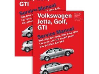 Volkswagen Jetta  Golf  Gti  A4  Service Manual  1999  2000  2001  2002  2003  2004  2005    Hardcover