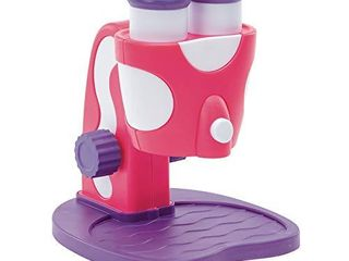 Educational Insights GeoSafari Jr  My First Microscope  Pink  STEM Toy for Preschoolers