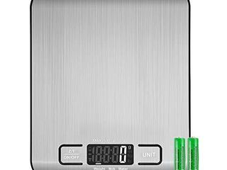 Etekcity Food Kitchen Scale  Gifts for Cooking  Baking  Meal Prep  Keto Diet and Weight loss  Measuring in Grams and Ounces  Small  304 Stainless Steel