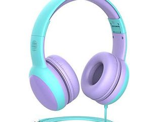 gorsun Kids Headphones with limited Volume  Children Headphone Over Ear  Kids Headphones for Boys and Girls  Wired Headset for Children