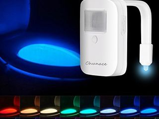 Rechargeable Toilet Bowl Night light 16 Colors Motion Sensor Bathroom lights  Tech Gadget   Fun Weird Novelty Funny Birthday Gag Stocking Stuffer Gifts for Him Guy Men Boy Toddler Mom Papa Brother