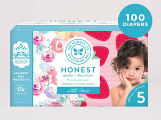 The Honest Company Super Club Box Diapers With Trueabsorb Size 5  100 Count