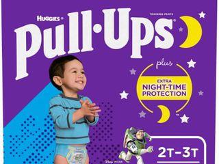 Huggies Pull ups Night time Boy 2t 3t