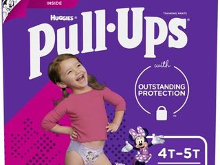 Pull Ups Girls  learning Designs Training Pants  4T 5T  74 Ct