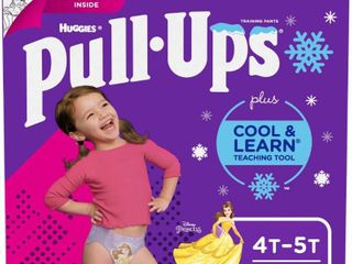 Huggies Pull Ups Girls  Cool   learn Training Pants   Size 4T 5T  56ct
