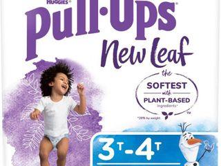 Huggies Pull Ups New leaf Boys  Training Pants   Size 3T 4T   68ct
