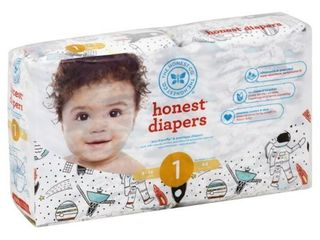 Honest Company Diapers  Space Travel   Size 1  44ct