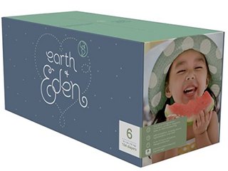 Earth   Eden Baby Diapers Size 6 104 Count