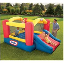 little Tikes Jump  n Slide Inflatable Bounce House
