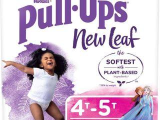 Huggies Pull Ups New leaf Girls  Training Pants   Size 4T 5T   60ct