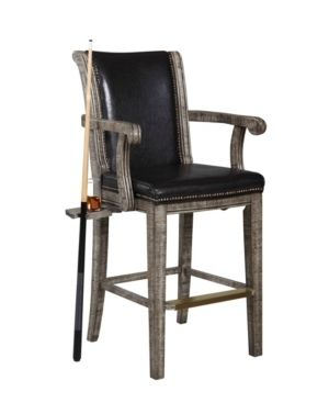 Hathaway Montecito Spectator Chair  24 in W x 46 in H  Driftwood Finish