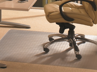 Modern   Contemporary New EcoTex Revolutionmat  Recycled Anti Slip Chair Mat