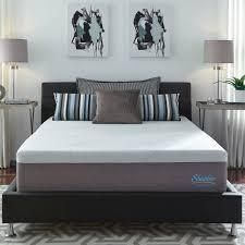 Slumber Solutions 14 inch Gel Memory Foam Choose Your Comfort Mattress   White  Retail 484 49