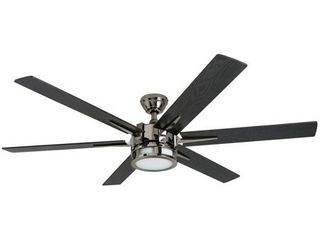 Honeywell Kaliza 56 inch lED Ceiling Fan with Remote Control  Retail 184 49 gun metal