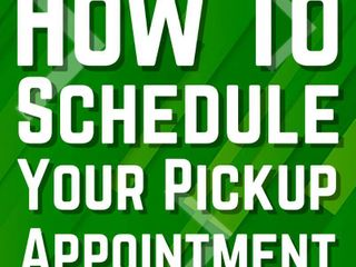 How to schedule your REQUIRED load out time
