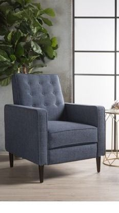 strick and bolton simone club chair 1 only Dark Blue