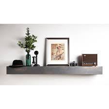 Copper Grove Ghia Driftwood Gray Mantel Shelf  Retail 242 49
